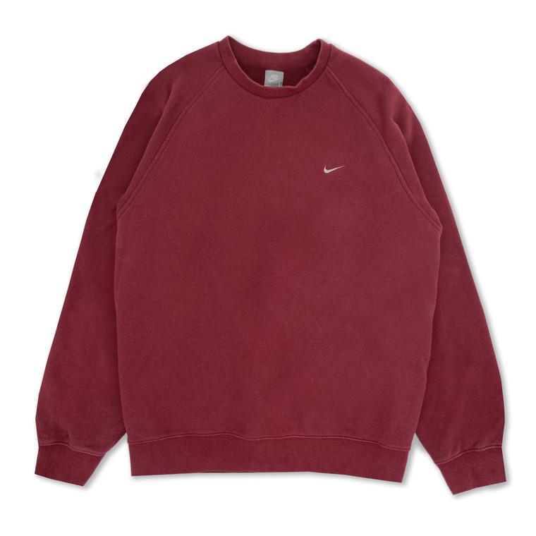 2000s Nike Check Crewneck Sweatshirt