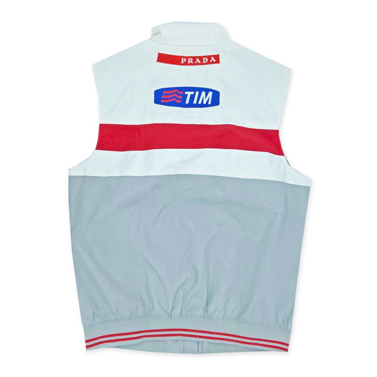 2000s Prada Americas Cup Challenge Luna Rossa Yachting Vest.