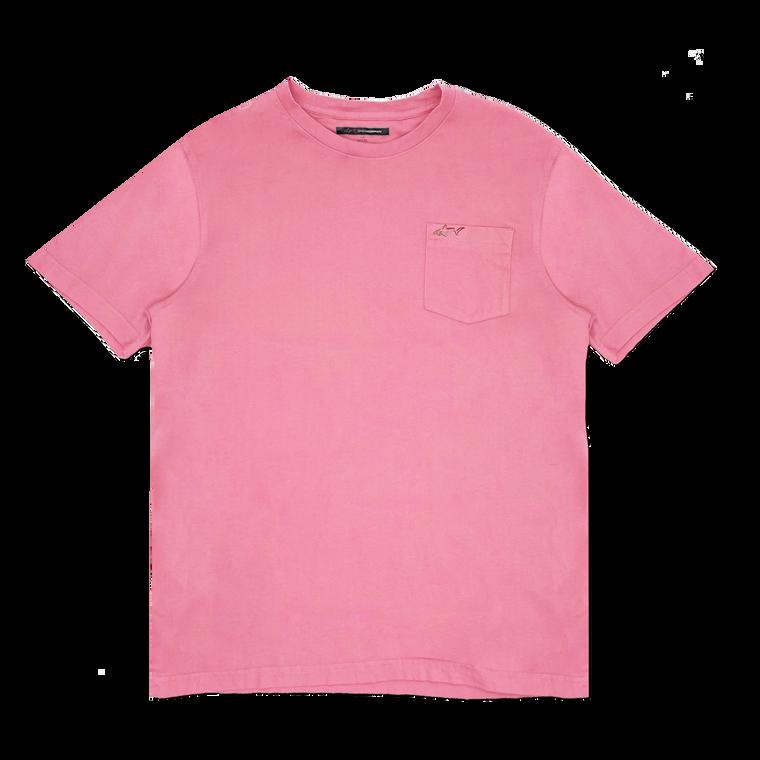 Vintage Greg Norman Pocket T-Shirt - Salmon