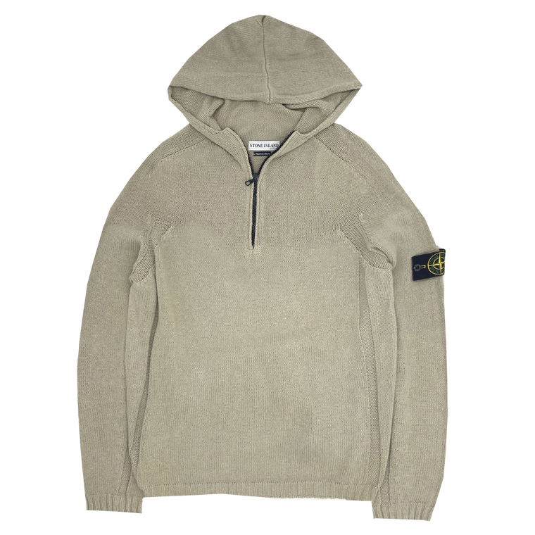 Vintage Stone Island Knit Hooded Pullover
