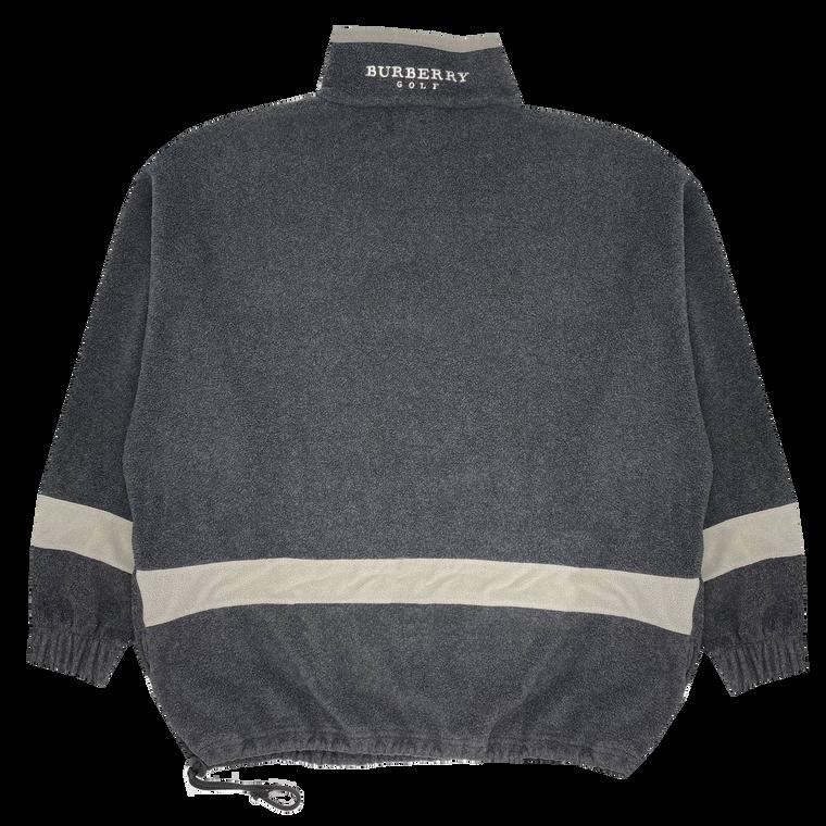 Vintage 90's Burberry Golf Fleece Pullover
