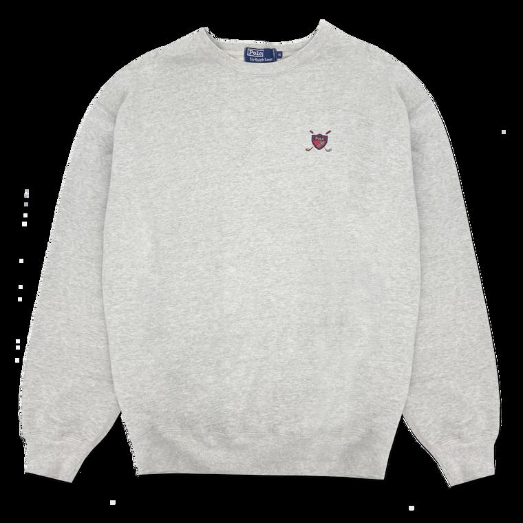 Vintage 90's Polo Ralph Lauren Golf Crest Crewneck Sweatshirt