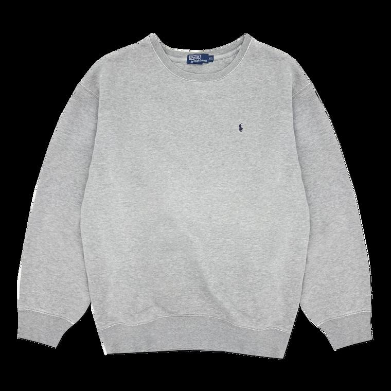 Vintage 90's Polo Ralph Lauren Crewneck Sweatshirt - Grey