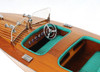 Chris Craft Triple Cockpit II - Mid Sized -  with Optional Personalized Plaque