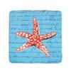 Coral Starfish Coasters - Set of 4