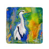 D and B's Blue Heron Coasters - Set of 4