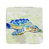Loggerhead Turtle Coasters - Set of 4