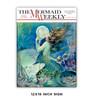 Mermaid Weekly Metal Sign
