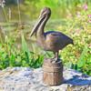 Feathered Fisherman Garden Sculpture - Pelican