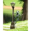 Streetlight Frog Garden Lantern