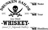 Drunken Sailor Oak  Barrel - Personalized