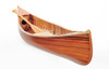 Wooden Canoe with Ribs - Matte - 6'