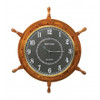 Ship's Wheel Clock - 24""