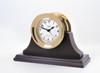 Atlantis Quartz Clock -  Black Dial with Color Flags