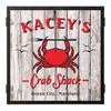 Personalized Dart Board - Crab Shack