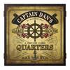 Personalized Dart Board - Captain