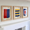 Nautical Signal Flags - Framed - Individual - A-Z