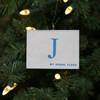 Nautical Signal Flag Ornament - Letter J