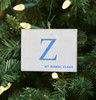 Nautical Signal Flag Ornament - Letter Z
