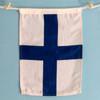 Nautical Signal Flag - Framed - Letter X