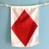 Nautical Signal Flag - Letter F