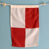 Nautical Signal Flag - Letter U