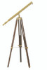 """(Z-023) 39"""" Harbor Master Telescope with 28x Power and Adjustable Tripod"""
