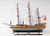 "Amerigo Vespucci Model Ship with Nameplate - 32"""