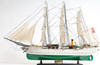 "Danmark Model Ship - 25"" - Optional Personalized Plaque"