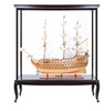"""HMS Victory Model Ship - 53"""" w/ XL Glass Free Display Case - Optional Personalized Plaque"""