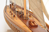 Shamrock Open Hull Model Ship - 46""