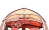 "Painted Riva Aquarama - RC Ready - 35"""
