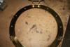 """(BP-701-21) 21"""" Solid Polished Brass Porthole Mirror Opening Bezel"""
