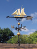 "46"" Yacht Nautical Weathervane"