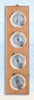 Deluxe Clock, Barometer, Thermometer and Hygrometer Weather Station