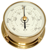 """Downeaster Barometer Nautical Instrument, White Face - 6"""""""