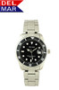 Del Mar Men's 200M Stainless Steel Classic Dive Watch - Black Face