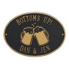 Personalized Beer Mugs Bar Plaque