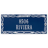 Personalized Sailor's Knot  Nautical Address Plaque - Two Lines