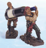 "(BH-52) 11"" Two Standing Pirates Bottle Holder"
