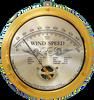 Cape Cod Wind Speed Indicator with Peak Gust