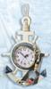 Decorative Nautical Wooden Anchor Clock