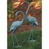 Yard Decor - Medium Garden Crane Pair