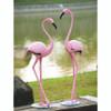 Pink Flamingo Outdoor Decor (Pair)