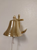 """Brass Anchor Ship Bell - 4 Sizes Available - 3"""", 4"""", 5"""", 6"""""""