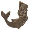 """Mermaid Home Decor Towel Hooks - Extra Large  11.5"""""""