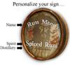 "Personalized Pirate Quarter Barrel Sign - 19"""