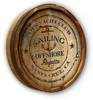 Personalized Yacht Club Quarter Barrel Sign - 19""