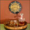Personalized Yacht Club Clock - 12""