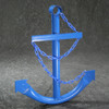 Classic Navy Anchor with Chain - Blue
